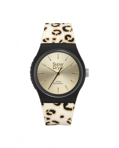 Montre femme Superdry Urban Leopard SYL299GB
