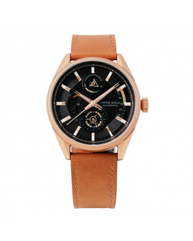 Montre homme ARIES GOLD - ROADSTER - G 9021 RG-BK