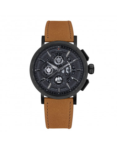 Montre homme ARIES GOLD - HAWK- G 7018 BK-BK