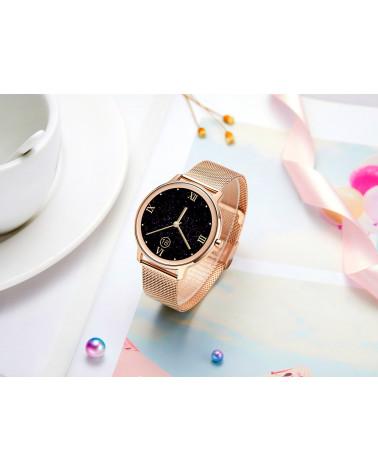 Smarty Smart watch - Eleganza - bracciale a maglia milanese - controllo del sonno - pedometro - GPS - touch screen