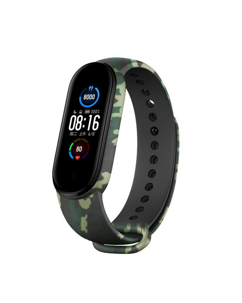 Smarty Smart watch - Fit Camo - motivo mimetico - consumo di calorie - pedometro - monitoraggio del sonno - fitness