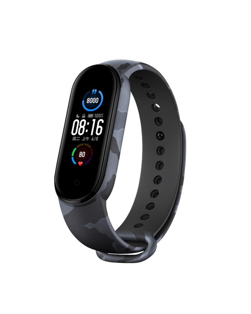 Smarty smart watch - Fit Camo - camouflage pattern - calorie consumption - pedometer - sleep monitoring - fitness