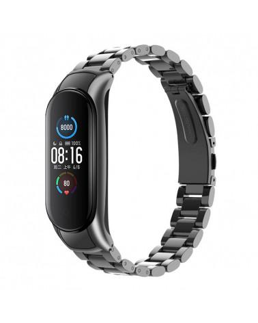 Smarty Smart Watch - Fit Lux Steel - bracciale in acciaio - consumo di calorie - pedometro - monitoraggio del sonno - fitness