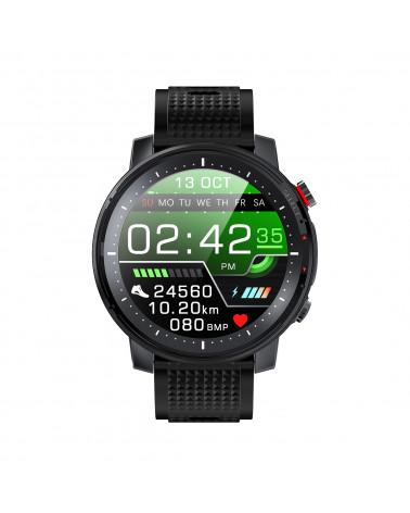 Smarty Smart watch - Stadium - Silikonarmband - programmierbarer Kardiotest - GPS - LED - Anti-loss mobile