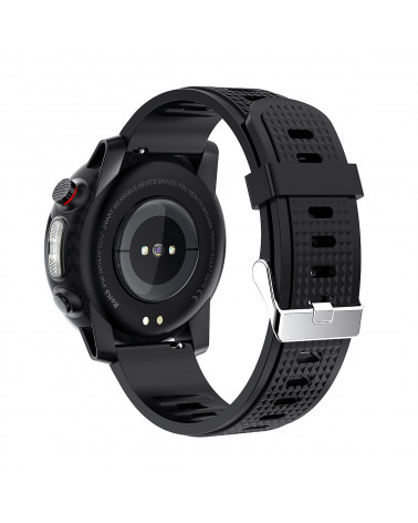 Smarty Smart watch - Stadium - silicone bracelet - programmable cardio test - GPS - LED - Anti-loss mobile