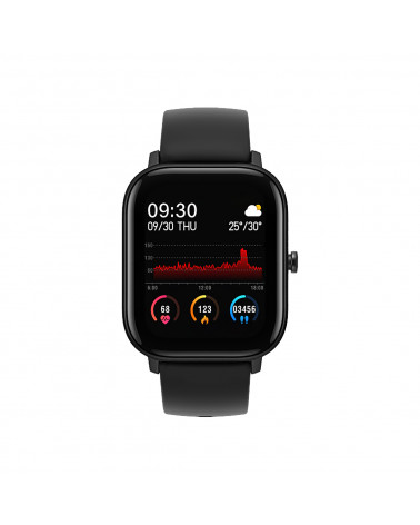 Smarty Smart Watch - Lifestyle Silicone - silicone bracelet - heart rate - calorie consumption - fitness - GPS