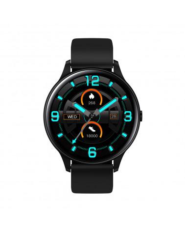 Smarty Smart watch - Essential - Silikonarmband - Körpertemperatur - Schrittzähler - Touchscreen
