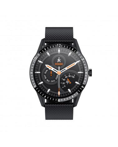 Smarty Connected Watch - Power - Silikonarmband - Bluetooth-Anruf - Herzfrequenz - Schrittzähler - Touchscreen