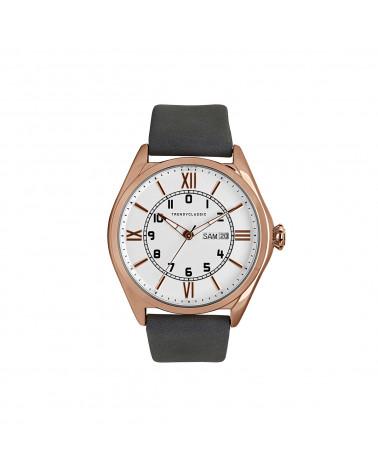 Montre homme Trendy Classic Arthur - Bracelet cuir