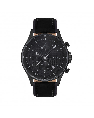 Men's watch - Lee Cooper - LC07188.651 - leather strap