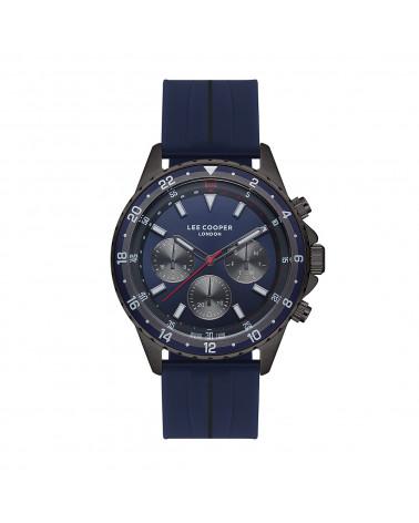 Men's watch - Lee Cooper - LC07210,099 - silicone bracelet