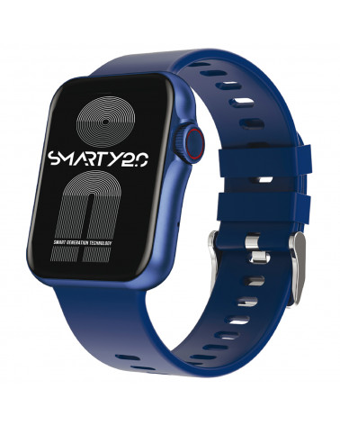 SMARTY Connected Watch - Silicone Standing - Silicone Wristband - Calorie consumption - Bluetooth Call - Fitness - GPS