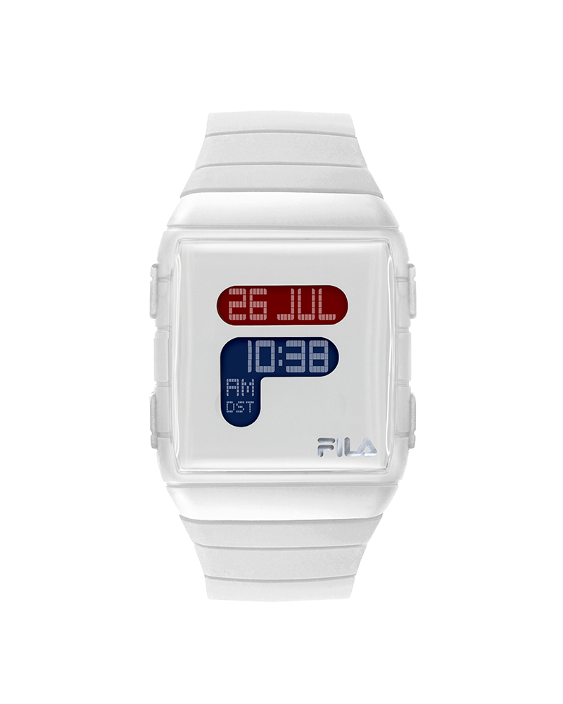 montre digitale fila silicone