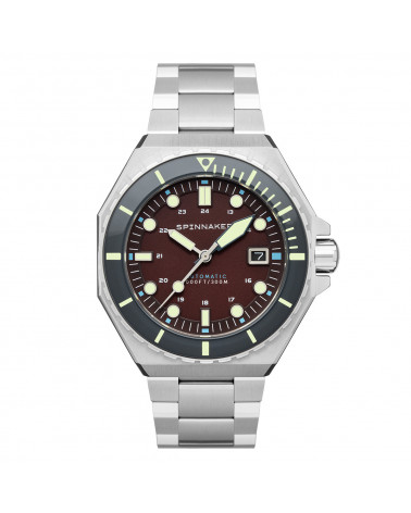 Montre homme Spinnaker - Dumas - bracelet métal - SP-5081-AA